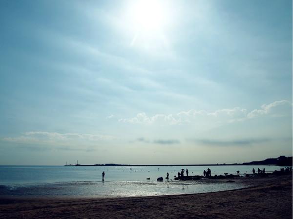 夏末那片蓝色的海绥中东戴河自驾游