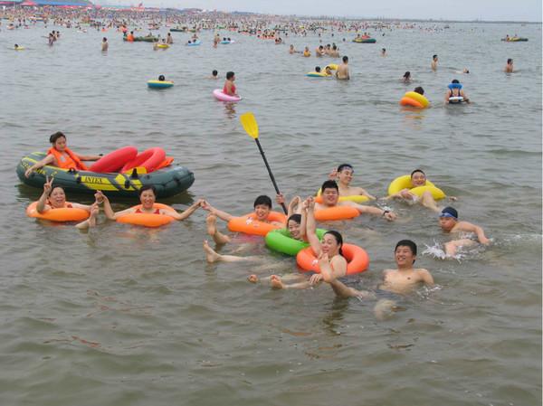 绥中葫芦岛洪家村东戴河亲海之旅
