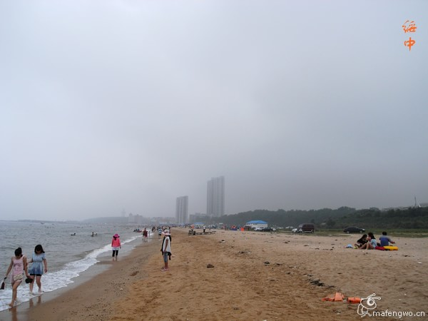 """""""东戴河电厂海滨怎么样?赶海和游泳都不错!"""